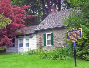 Benner House, Rhinebeck, NY by English Wikipedia user Daniel Case. Licensed under CC BY-SA 3.0 via Wikimedia Commons - httpcommons.wikimedia.orgwikiFileBenner_House,_Rhinebeck,_