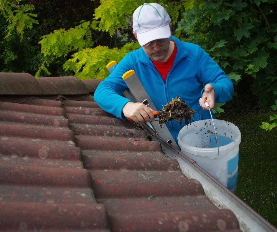 Spring Home Maintenance Tips clean gutters