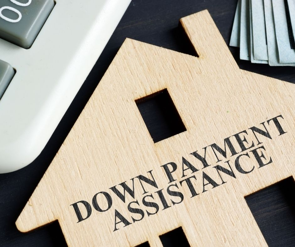 Down payment assistance from government programs