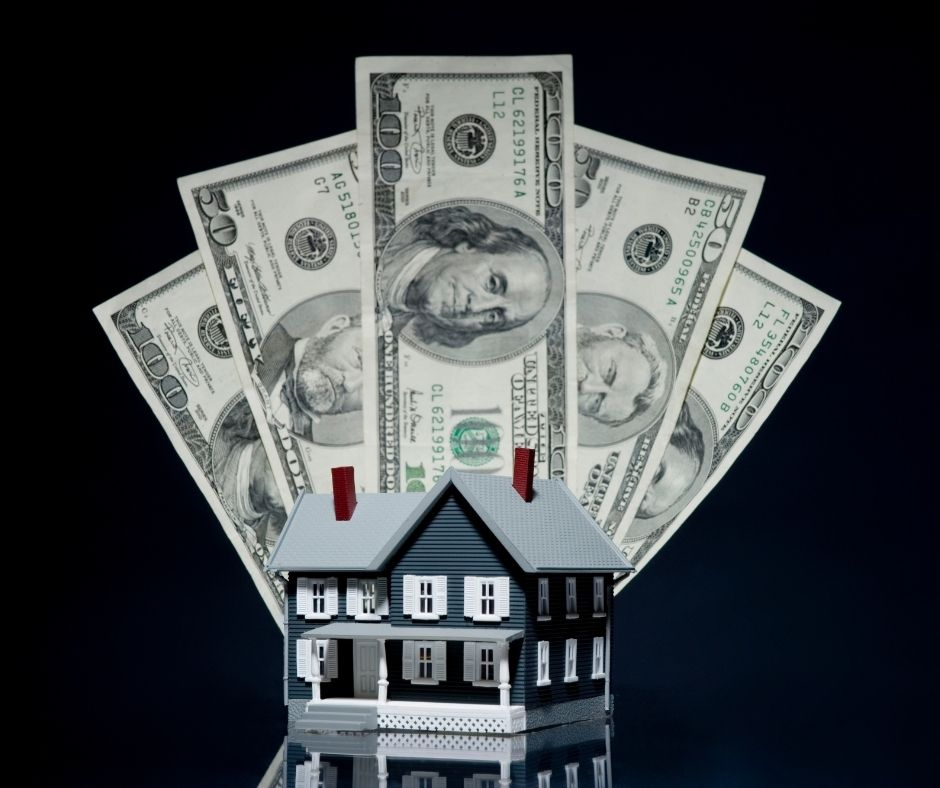 Cash for down payment on a house