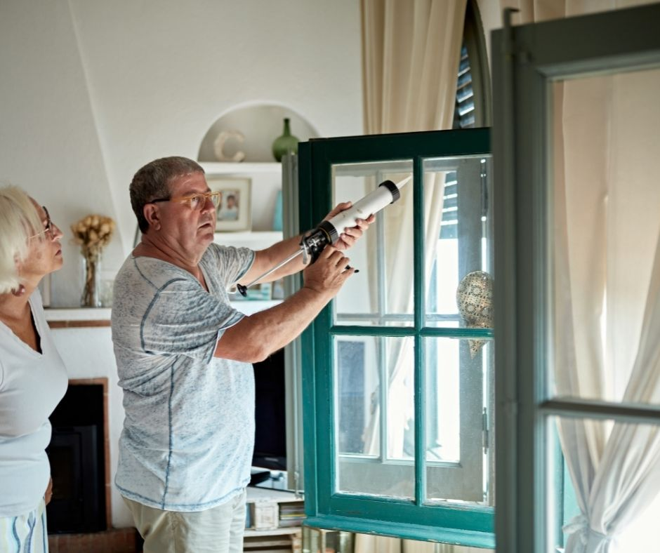 Check you caulking around windows